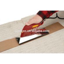 800W Electric Carpet Curve Máquina de fusão Carpet Seaming Ferro