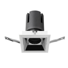 round square recessed embedded 9w 25watt 30w 40w replaceable led downlight diffuser cover
