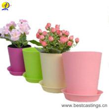 OEM Custom Пластиковые Цветочные Плантатор для сада и домашнего украшения