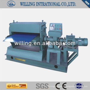 Machine de gaufrage en acier