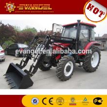 LUTONG 80HP Farm Tractor LT804 con cargador frontal