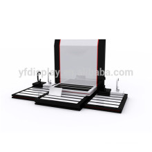 high quality wood watch display counter tray made in China