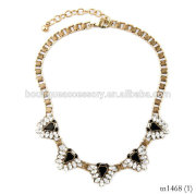 YIWU costume jewellery Fashion Jewelry Choker Necklace, Gemstone Acrylic Tear Drop Necklace