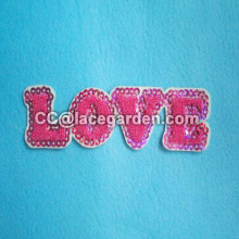 Sequin Embroidery Patches