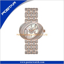 Special Shape Full Diamands Ladies Luxury Watch