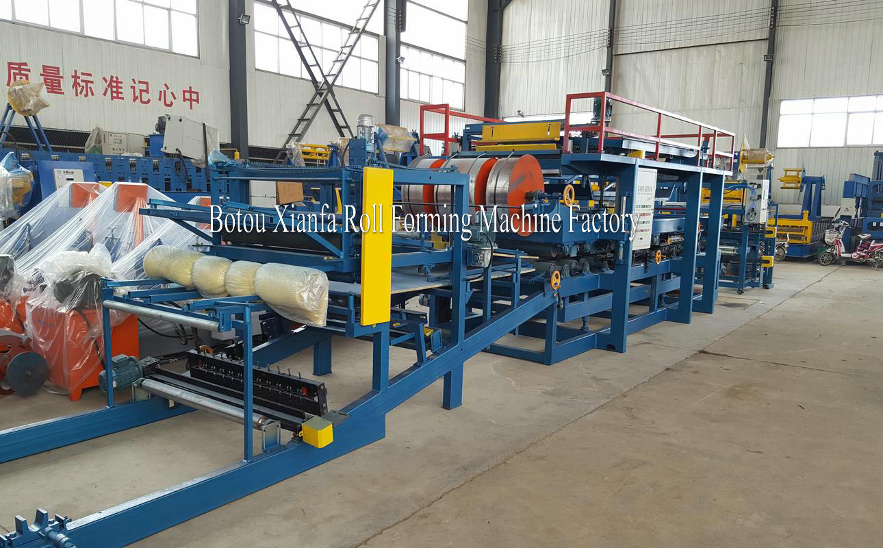 aluminium composite roof tile panel roll forming machine