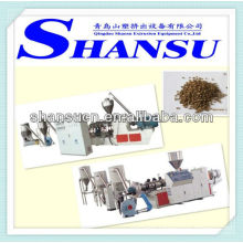PVC And Wood Pelletizing Extruder Machine
