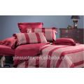 Juego de cama para el hogar barato, conjunto de ropa de cama 100% poliéster, juego de ropa de cama impreso en flor