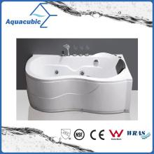 Ellipse ABS Board Massage Bathtub in White (AB0822)