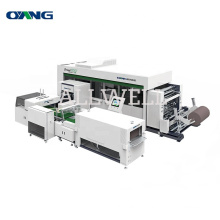 China Price Full-Automatic Non Woven Box Bag Making Machine With Handle Attach