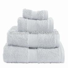 Ensemble de serviettes à rayures en coton éponge classe coton