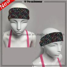 OEM Promotionnel sur mesure Nouveau design imprimé Elastic Sports Headband