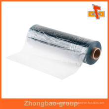 Made in china flexible customizable water proof attractive shrinkable transparent shrink wrap film for mattress