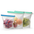 Silicone Food Fresh vegetable Seal packing Bag