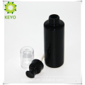 Glass material and screen printing surface handling olive oil glass bottle serum pump bottle 100ml for cosmetic packing