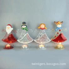 Metal Candle Holder for Christmas Decorations