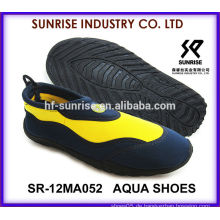 SR-14WA052 Coole Männer Großhandel Wasser Schuhe Strand Schuhe für Wasser Aqua Schuhe Wasser Schuhe Surfen Schuhe