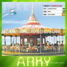 Equipamento de divertimento elétrico comercial - Merry Go Around