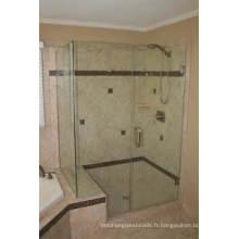 Taché / Couleur / Verre clair de feuille pour le verre décoratif de porte