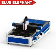 Cortador del laser auto de la alimentación 500w, precio de la cortadora del laser de la fibra para el corte del metal