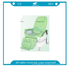 AG-XD206B Hospital eléctrico de silla de donación de sangre usado con soporte IV