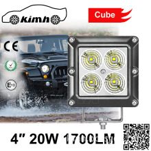 Newest Design Product 20W Motorcycle Led Light Offroad ATV led flood work lamp