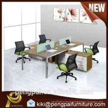 15F042 office workstations modular with tabletop cable channel