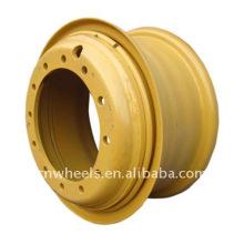 Ingeniería / rueda de acero OTR (rueda ligera de 3 piezas)
