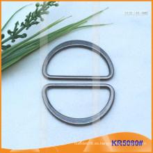 Tamaño interior 40mm Metal Hebillas, Regulador de metal, Metal D-Ring KR5080