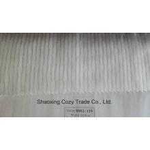 Nouveau tissu de rideau transparent organza de rayures de projet populaire 0082119