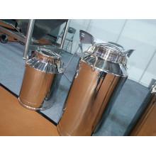 Balde de transporte de aço inoxidável 10-60L