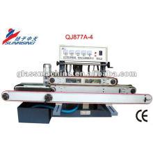 QJ877A-4 Horizontal vidro retificadora para vidro temperado