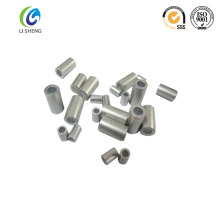 high quality crimp aluminum stop buttons