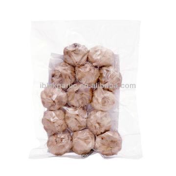 The gift box of natural organic black garlic