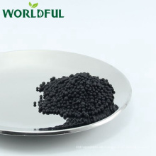 glänzender schwarzer granulierter Biodünger npk 12-0-4