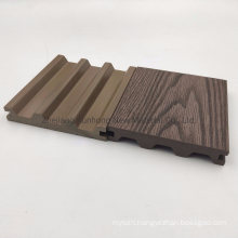Popular Arched Solid WPC Composite Decking with Waterproof Ce SGS Fsc ISO