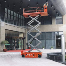 Günstiger Preis 10m Indoor Outdoor Mobile Elevated Electric Scissor Lift