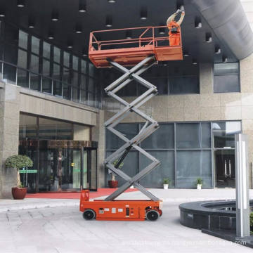 Cheap Price 10m Indoor Outdoor Mobile Elevated Electric Scissor Lift