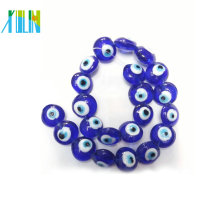 European charm lampwork glass evil eye beads