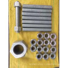Galvanisation à chaud ASTM A182 hexagone écrou