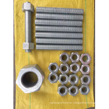 Hot Dip Galvanizing ASTM A182 Hexagon Nut