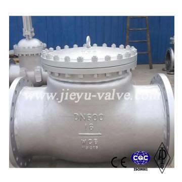 Пружинный обратный клапан Pn16 Dn600