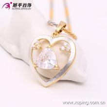 Xuping Luxury Multicolor Elegante colgante en forma de corazón