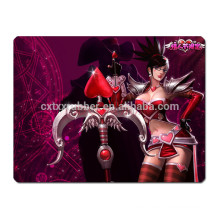New design character game mouse pad with great price