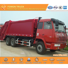 SHACMAN AOLONG 6x4 16m3  rear-loaded compactor vehicle