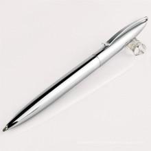 2015 stylo promotionnel adapté aux besoins du client en métal avec le logo, stylo en aluminium, stylo en métal bon marché