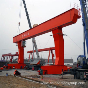Quality Inspection for Single Girder Eot Crane L Type Mobile Gantry Crane 10t supply to Georgia Supplier