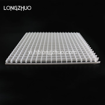White Polystyrene Egg Crate Air Return