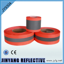 orange / grey reflective warning tape