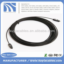 33ft Digital Optical Optic Fiber Toslink Audio Cable 10m OD 2.2mm